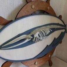 Изготовление панно со скелетом кита от Ярослава Смольского, часть 2