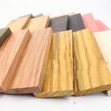 Деревянные плашки для накладок на рукоять ножа