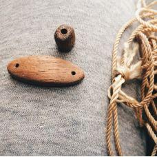 Как сделать деревянный браслет, автор Денисов Слава