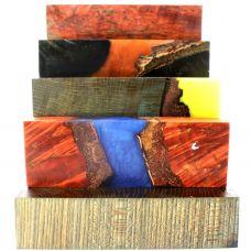 Стабилизированная древесина для украшений