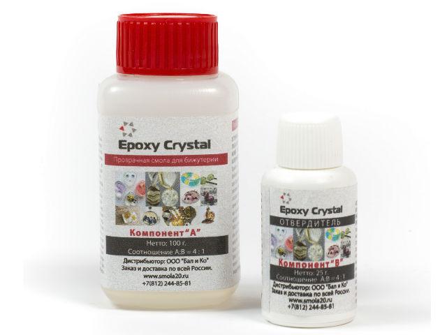 Эпоксидная смола Epoxy Crystal, 125 гр