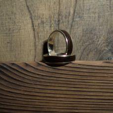 """Как сделать кольцо из дерева и серебра, автор мастерская """"Вуд Мэйд"""""""