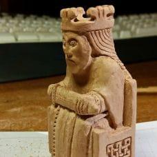 Изготовление резной шахматной фигурки от Hans Philipp