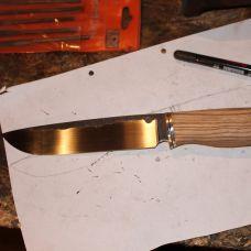Как сделать нож, автор Артур Русаков
