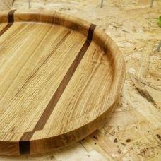 Как сделать круглый поднос из дерева своими руками?