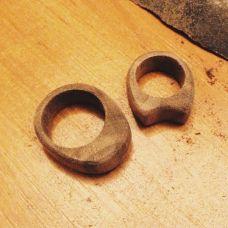 Как сделать кольцо из дерева?