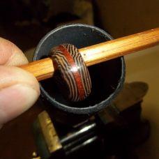 Как сделать кольцо из венге и падука, автор Гусев Роман