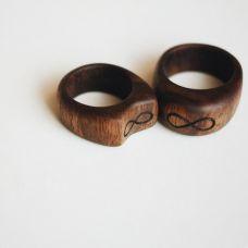 Как сделать кольцо из дерева, автор Денисов Слава