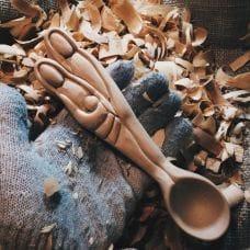 Изготовление декоративной ложки от Славы Денисова