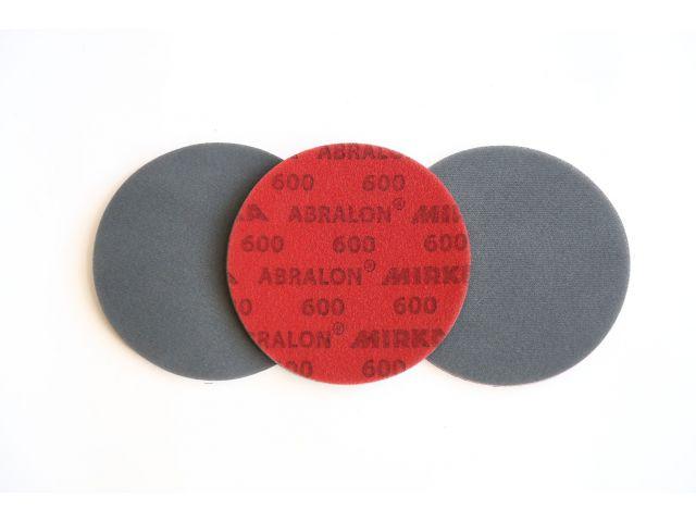 Шлифовальный кругABRALON на липучке, D=150мм, зерно Р600