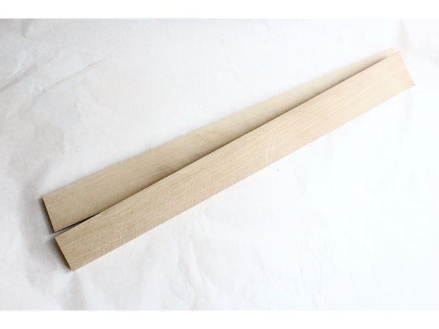 Белый граб 530х50х5-6мм, тонкая заготовка для творчества