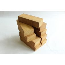 Ироко, набор из 9шт заготовок для рукоятей ножей