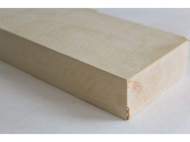 Белый граб, заготовка под приклад 48х90-110х530мм
