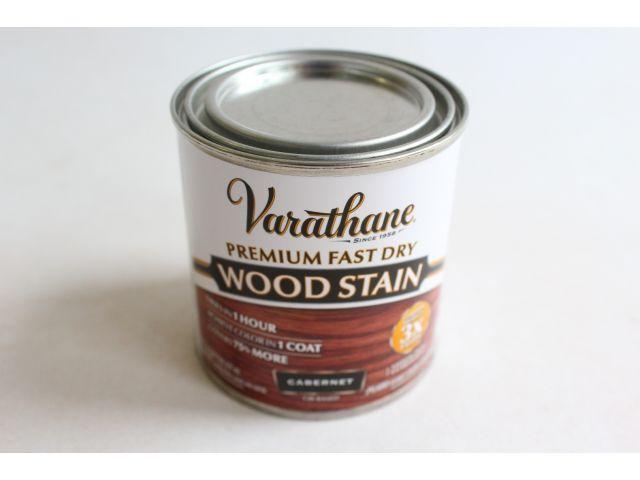 Быстросохнущее тонирующее масло Varathane Fast Dry Каберне 0.236л