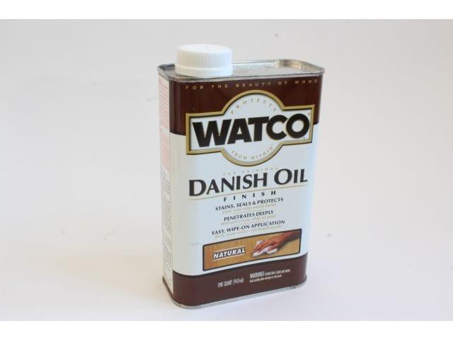Watco Danish Oil, датское масло, натуральный цвет, 0,945 литра