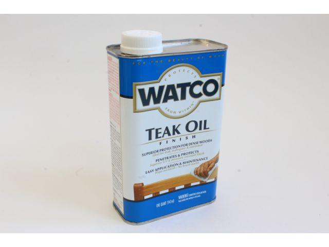 Watco Teak Oil, тиковое масло, 0,945 литра