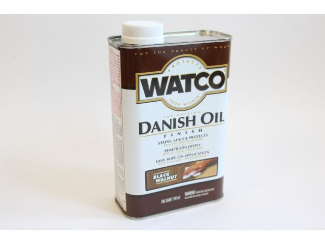 Watco Danish Oil, датское масло, черный орех, 0,945 литра