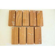 Эбиара, заготовки для рукоятей ножей на выбор
