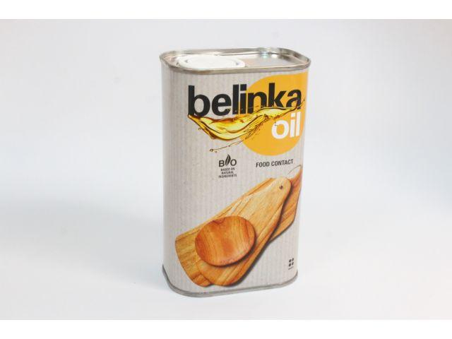Belinka oil Food contact, масло для древесины, 0,5 литра