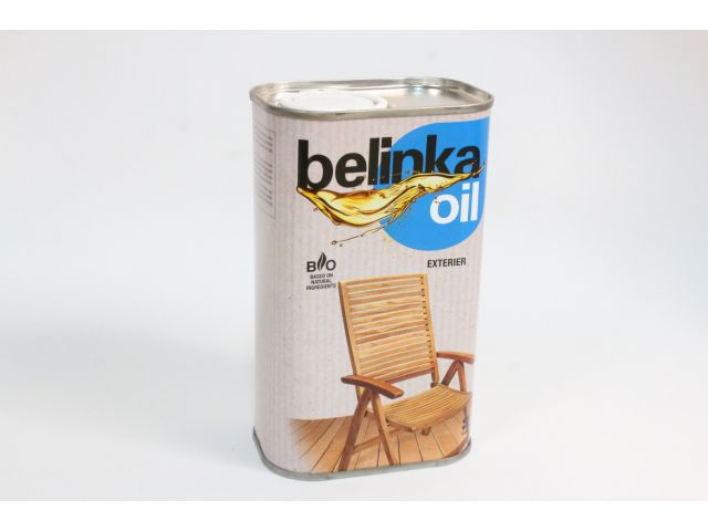 Belinka oil EXTERIER, масло для внешних работ, 0,5 литра