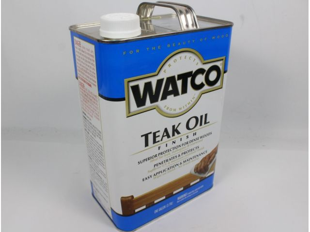 Watco Teak Oil, тиковое масло, 3,78 литра