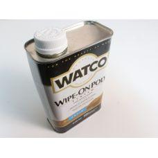 Watco Wipe-On Poly, полироль для дерева, матовая, 0,945 литра