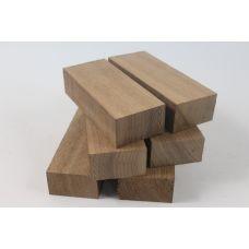 Американский орех, набор из 6 шт. заготовок для рукоятей ножей