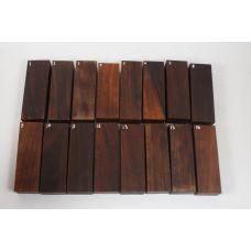 Палисандр сантос, заготовки для рукоятей ножей на выбор