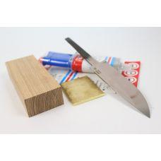 """Набор для изготовления ножа """"Гриф"""" Кузница Шишулина"""