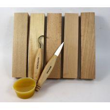 Набор для изготовления ложек (для правшей)
