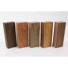 Набор заготовок для рукоятей ножей 'Пять видов дерева' №9 новый!