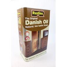 Rustins, Original Danish Oil, оригинальное датское масло, 5 литров