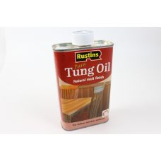 Rustins, Tung Oil тунговое масло 0,5 литра
