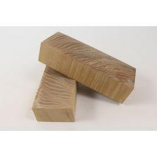 Ясень стаб. торцевой волнистый, заготовки для рукоятей ножей