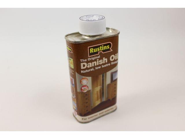 Rustins, Original Danish Oil, оригинальное датское масло, 250мл