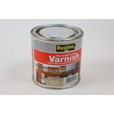 Rustins, Poly Varnish Clear, лак полиуретановый глянцевый, 250 мл