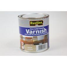 Rustins, Poly Varnish Clear, лак полиуретановый полуматовый, 0,5 литра