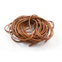 Шнур вощеный коричневый толщ. 3 мм, уп. 5 м