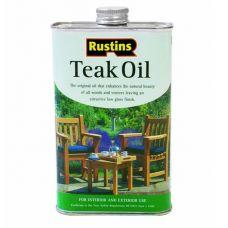 Тиковое масло Rustins Teak Oil 5л
