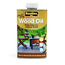 Фасадное масло Rustins QD Exterior Wood Oil 1л