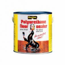 Полиуретановый лак для пола Rustins Poly Floor Seal Gloss (Глянцевый) 1л