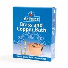 Очиститель латуни и меди Antiquax Brass and Copper Bath 3x50 гр.