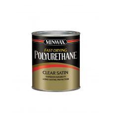 Быстросохнущий полиуретан Minwax FAST-DRYING Полуматовый 946 мл