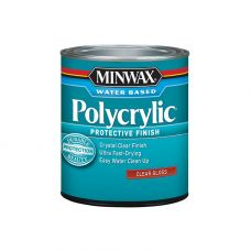 Защитное финишное покрытие на водной основе Minwax POLYCRYLIC Глянцевый 237 мл