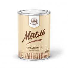 """Масло по дереву для саун и бань """"Мартьянов"""" 1л"""