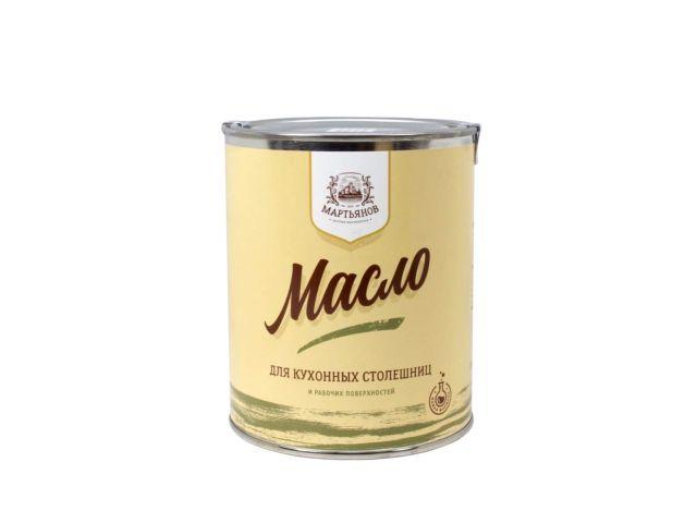 """Масло для кухонных столешниц """"Мартьянов"""" 1л"""