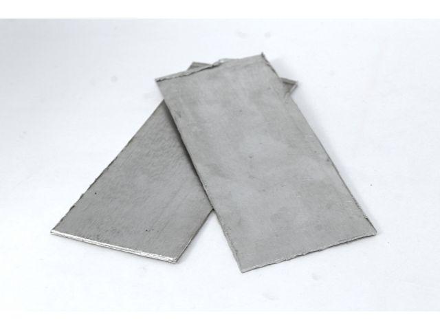 Алюминий, лист 50х130х0,2мм