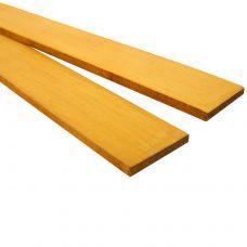 Желтый граб 530х40х5-6мм, тонкая заготовка для творчества