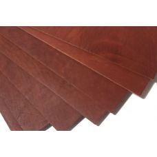 Кожа натуральная  (Краст Наполи) цвет рыже-коричневый 3,0-3,2мм