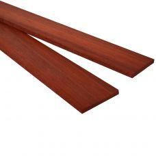 Падук 530х50х5-6мм, тонкая заготовка для творчества